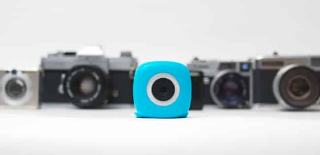 Stick-Anywhere Bluetooth Camera: Podo