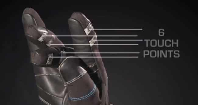 Bluetooth Gloves Touchpoints
