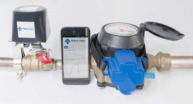 Water Hero Wireless Water Shutoff mobile app