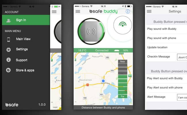 Bluetooth Safety Device: BiiSafe Buddy