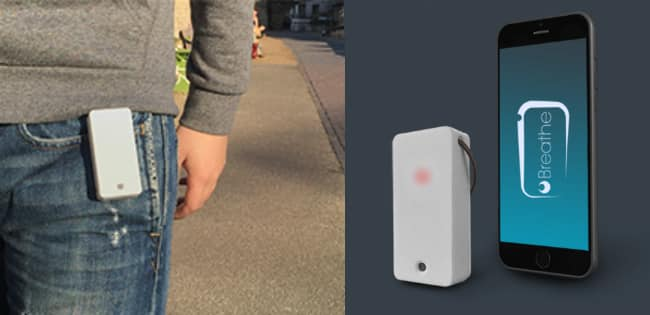 Personal Air Quality Sensor: Breathe