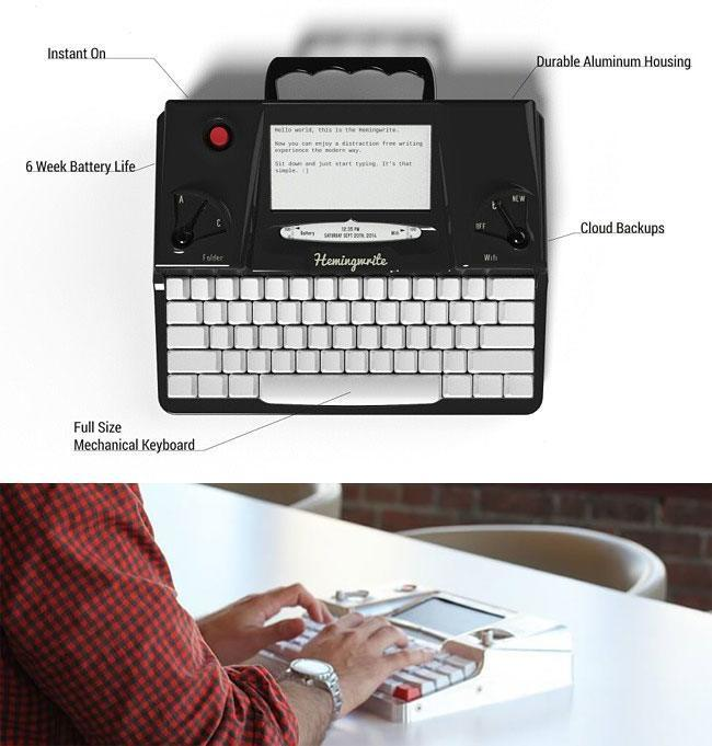 Connected WiFi Typewriter