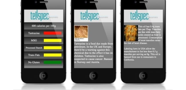 Bluetooth Food Scanner: TellSpec
