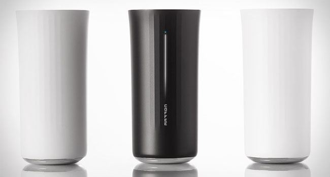 Vessyl Bluetooth Smart Mug connects with smartphone
