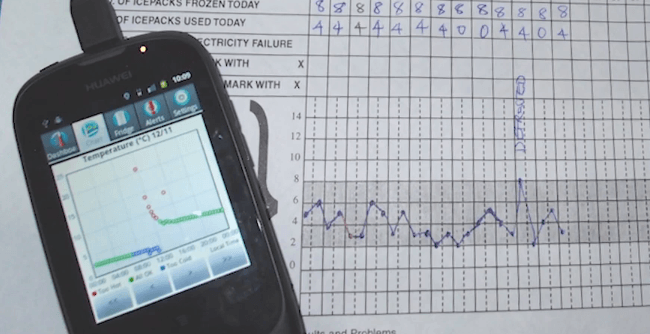Wireless Vaccine Monitoring: ColdTrace