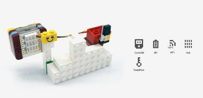 Lego-compatible Prototyping Kit