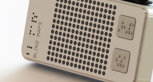 Braille Interface Navigation: BlindMaps