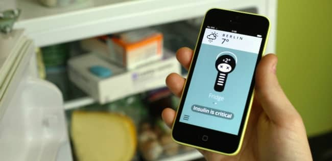 Medication Temperature Sensor