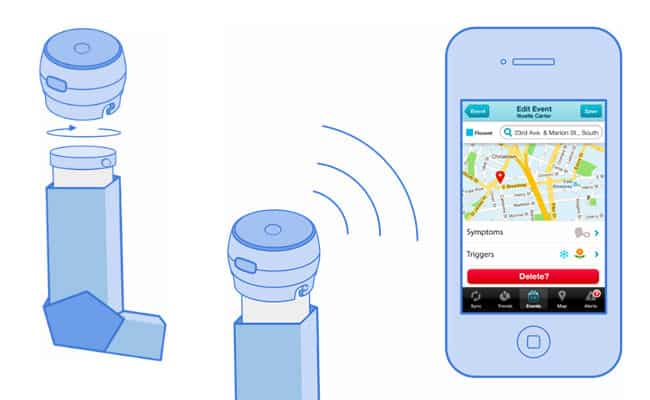 Connected Inhaler: Asthmapolis