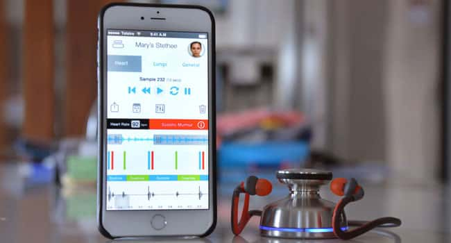Bluetooth Stethoscope Stethee for smarthpones