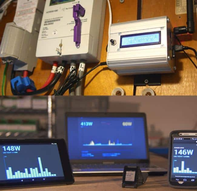 Open Source Smart Energy Monitor: emonPi