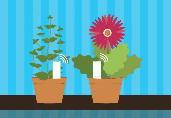 New smart wireless watering system: Plantlink