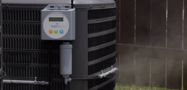 Smart Evaporative AC Booster: Mistbox
