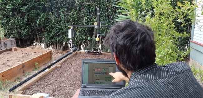 Calibrating Farmbot using interfa