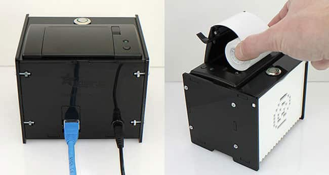 Internet-connected mini printer from Adafruit