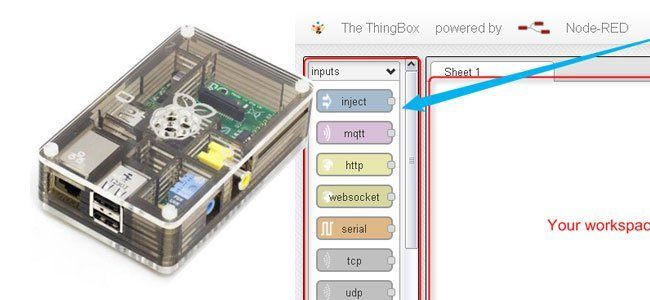 RasPi IoT Development Kit: ThingBox