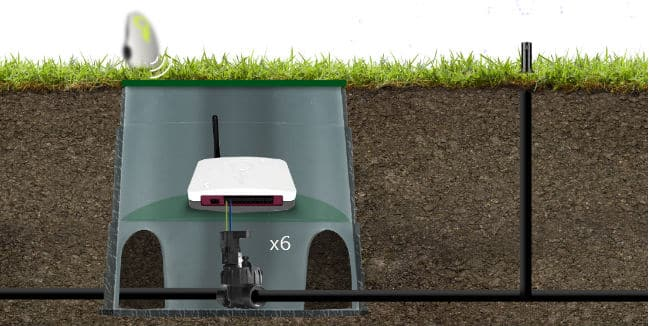 new wifi enabled irrigation system