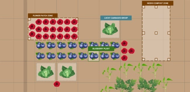 Farmbot Planting Interface
