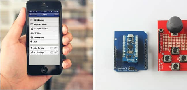 Bluetooth Development Board: BLEduino