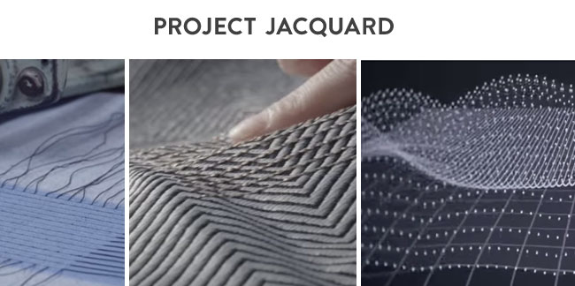 Google's Project Jacquard brings touch to textiles