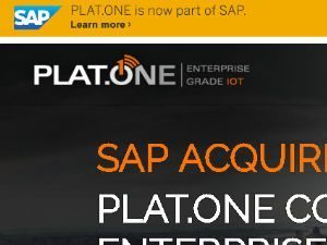 SAP Acquires Plat.One as part of $2B IoT Investment Strategy