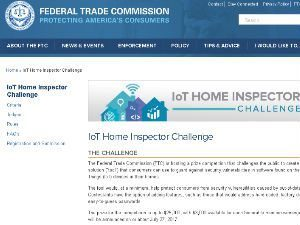 FTC Challenges Public to Improve IoT Security