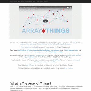 ARRAY OF THINGS