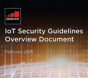GSMA IOT SECURITY GUIDELINES