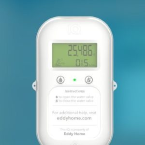 Eddy Home uses smart sensors for homeowners to reduce water usage