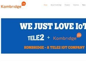 Tele2 IoT acquires Kombridge AB