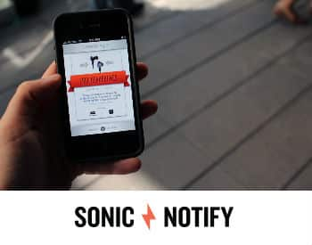 Sonic Notify
