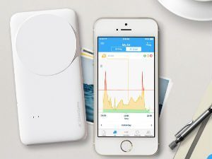 CleanSpace Tag - Energy Harvesting Portable Air Pollution Sensor