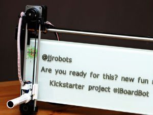 iBoardbot; Wifi Whiteboard