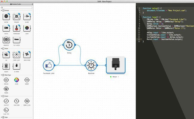 SAM Labs Backend