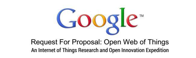 "Google offering research grants for an ""Open Web of Things"""