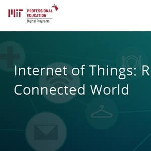 MIT ROADMAP TO THE CONNECTED WORLD COURSE ​