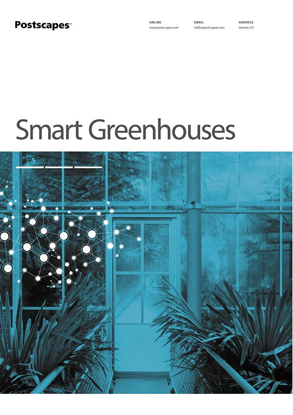 Smart Greenhouse Cover