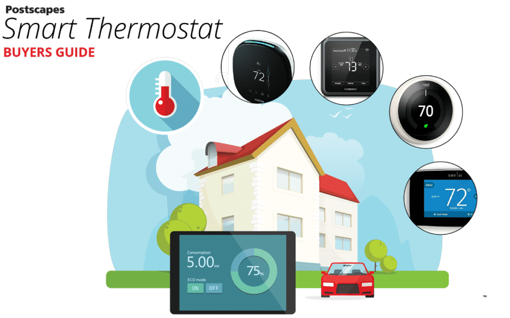 Top Iot Smart Thermostats 2018 Reviews And Comparison Guide Thermostat Heat Cool 2 Transformers So You Have Decided Want To Remotely Manage Your Heating Cooling Save Resources While Are At It This New Generation Of