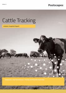 Cattle Tracking Flat Cover