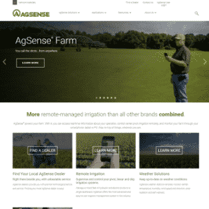 Agsense (Acquired by Valmont Industries) Logo