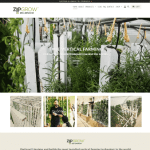 Bright Agrotech / Zipgrow (Acquired by Plenty Ag) Logo