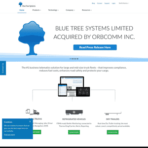 Blue Tree Systems (Acquired by ORBCOMM) Logo