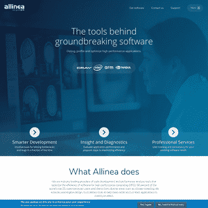 Allinea (Acquired by ARM) Logo