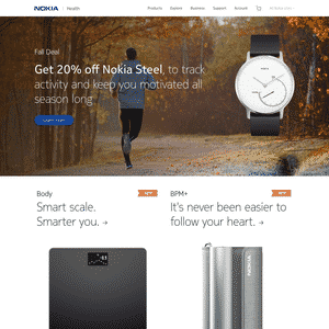 Withings (Acquired by Nokia) Thumbnail