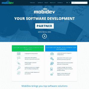 MobiDev Logo
