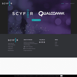 Scyfer (Acquired by Qualcomm) Logo