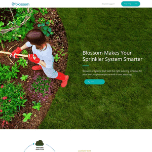 Blossom (Acquired by Scotts Miracle-Gro) Logo