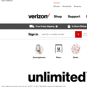 Verizon Wireless Thumbnail