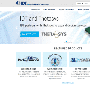 IDT (Acquired by Renesas) Logo