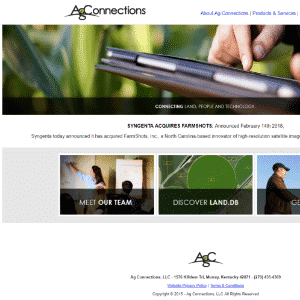 Ag Connections (Acquired by Syngenta) Logo